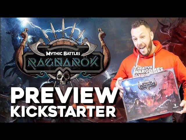 Présentation Mythic Battles Ragnarok - Kickstarter Preview
