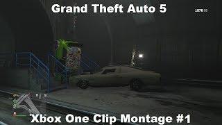 Grand Theft Auto 5  - Xbox One Funny Clip Montage #1