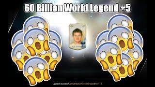 OMG! 60 BILLION Solskjær WORLD LEGEND +5! | June Diamond Package | FIFA ONLINE 3 강화성공! เปิดแพค!