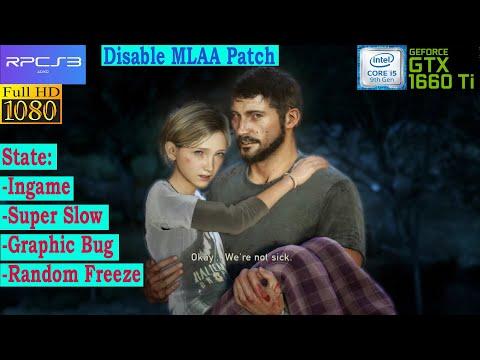 [RPCS3 PS3 Emulator] The Last Of Us ~IR-720p~ (Vulkan-1080p) - Disable MLAA Patch
