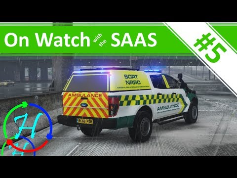 Motorway Crashes - SORT & Doctor Shift - Ep.5 - On Watch with the SAAS - GTA V w/ Rescue Mod