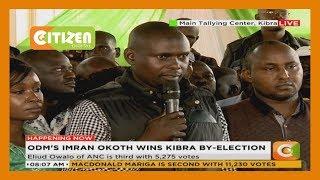 ODM's Bernard Okoth declared as the validly elected member of Kibra