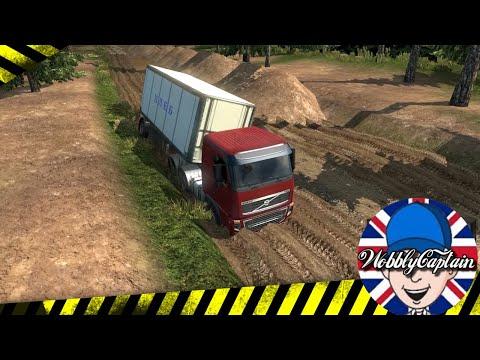 ETS2 Tough Russian Trucking #1