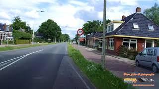 Rijksstraatweg Hurdegarijp nieuw met vermelding van kruispunt namen