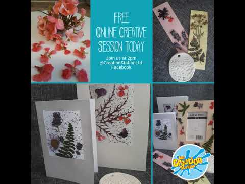 Free Online Creative Session Today