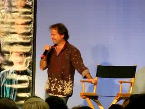David Nykl impersonates Joe Flanigan