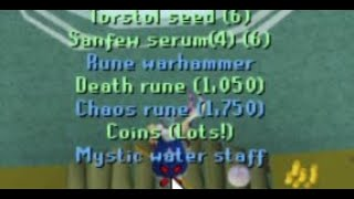 100KC without leaving the room (osrs combat achievements)