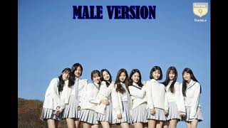 [Male Ver] Fromis 9 - 유리구두 Glass Shoes