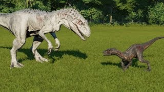 Indoraptor VS Indominus Rex - Jurassic World Evolution