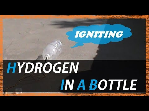 IGNITING HYDROGEN IN A BOTTLE