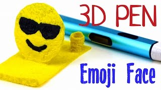 DIY Emoji Face Smartphone Holder - Stand with 3D Printing Pen   New Dewang X4 Unboxing, Test