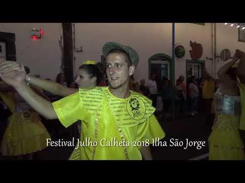 Marcha Oficial Velas no Festival Julho Calheta 2018 Ilha São Jorge