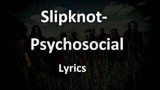 Slipknot-Psychosocial (english and spanish lyrics)