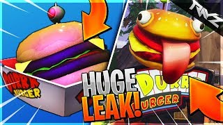 NEW DURR BURGER CONSUMABLES LEAKED! NEW ABILITY + SECRET ANNIVERSARY EVENT! (Fortnite Battle Royale)