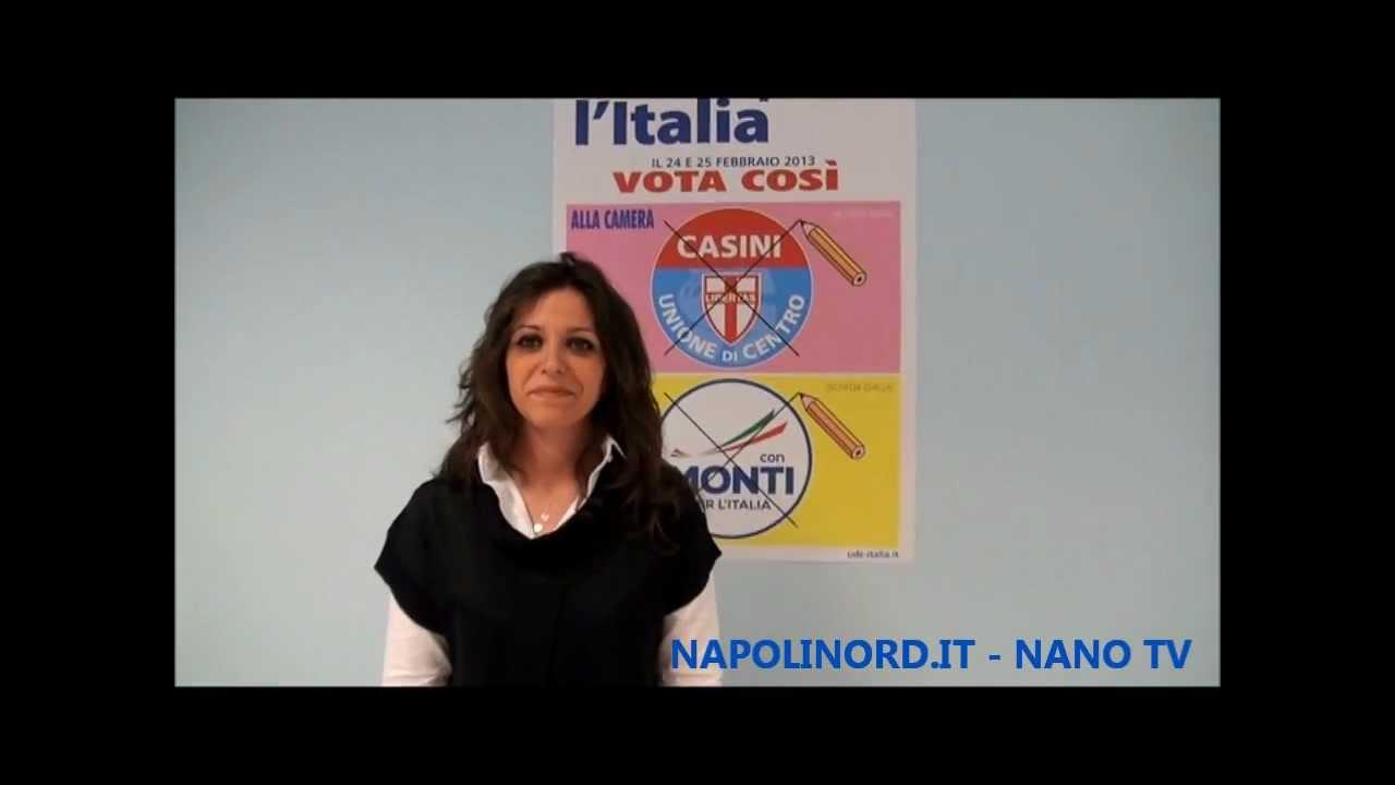 Nano tv parla alessandra del prete udc candidata alla for Camera dei deputati web tv