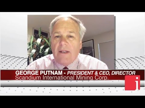 InvestorIntel Interview With George Putnam On Scandium International's R&D Tax Incentive Award