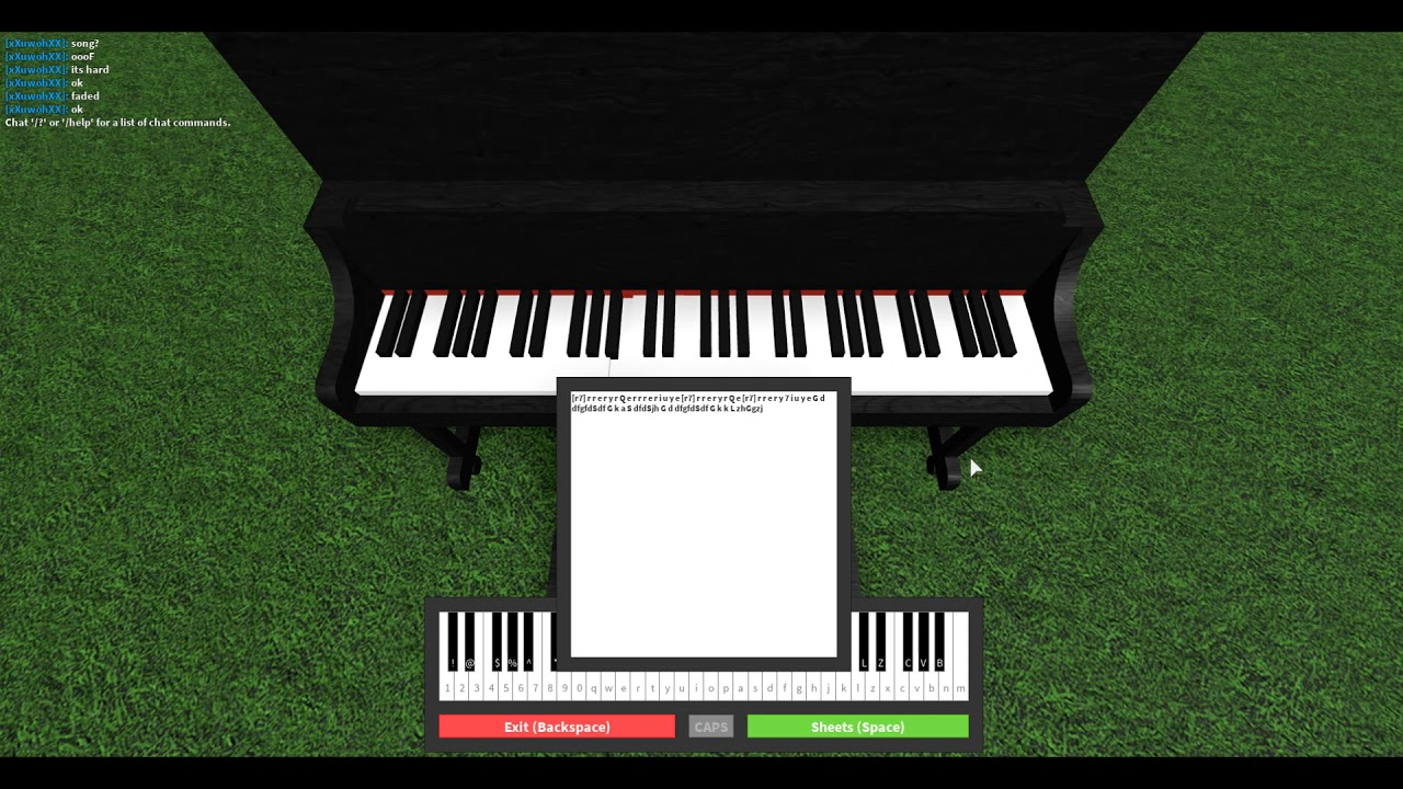 Roblox Piano Sheets Giorno Giovanna Theme Easy Youtube