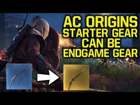 Assassin's Creed Origins - Starter Gear CAN BE Endgame Gear (AC Origins - Assassins Creed Origins)