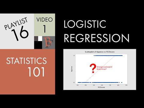 Statistics 101: Logistic Regression, An Introduction