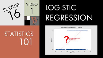 Statistics PL16 - Logistic Regression