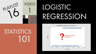 Statistics 101: Logistic Regression, An Introduction