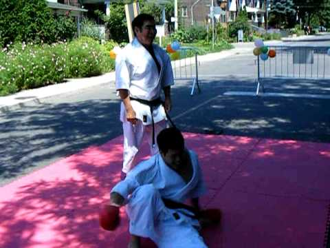 Kancho Okuyama 8th Dan Black Belt Karate Danforth