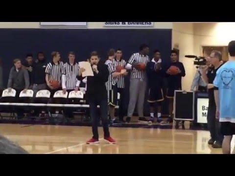Prestonwood Christian Academy - The Exhibition Game 2016 - Player Introduction (Part 1)