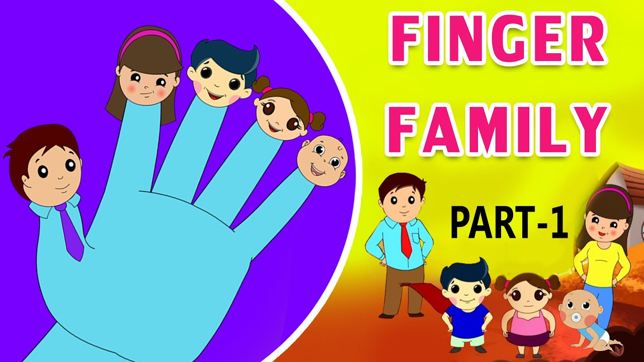 The Finger Family Song Part-1 (HD) - Nursery Rhymes | Popular Kids Songs |  Shemaroo Kids