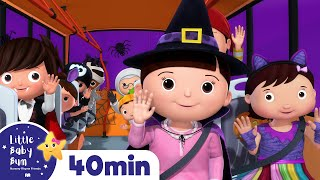Halloween Special Compilation | Wheels on The Bus + More Halloween Songs for Kids | Little Baby Bum