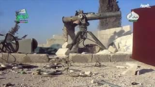حلب بين الاشتباكات العنيفة وغارات روسيا والنظام