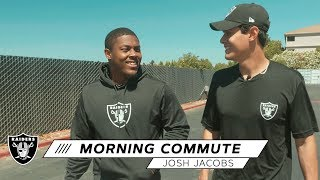 """Josh Jacobs: """"See, I don't listen to music before the game"""" 