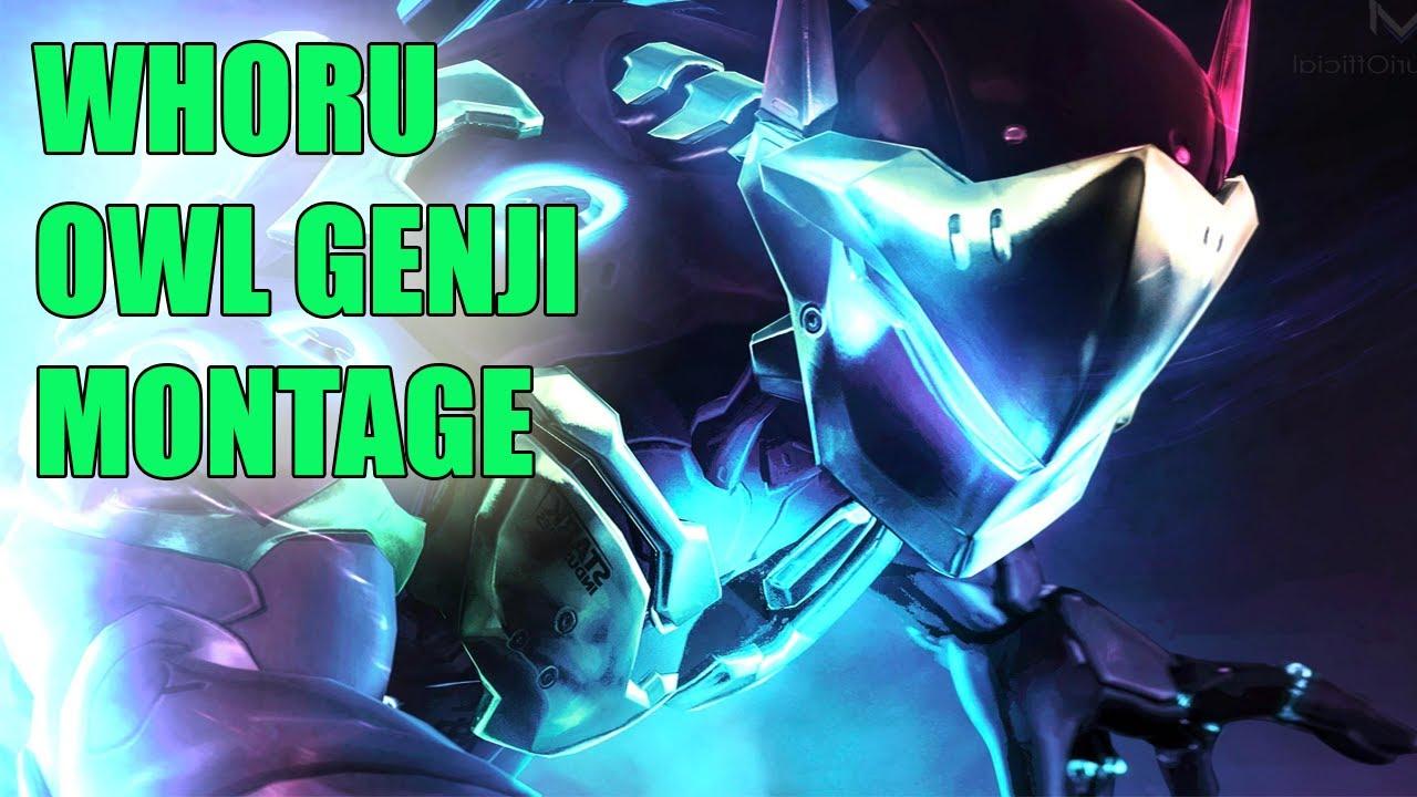 WHORU GENJI MONTAGE - BEST GENJI PLAYS OVERWATCH