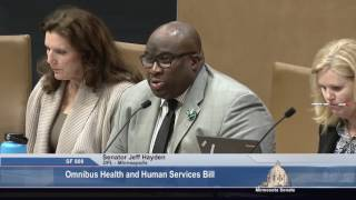 Public Offers Views of Health, Human Services Funding Plan