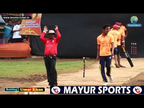 Umar Khan Batting In Shivsena Trophy 2016