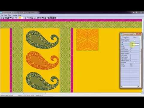 Textile Design process