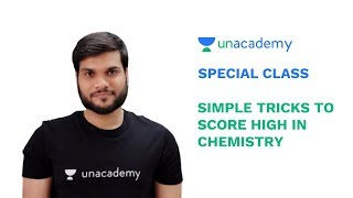 Special Class - JEE Mains 2019 - Simple Tricks to Score High in Chemistry - Arvind Arora