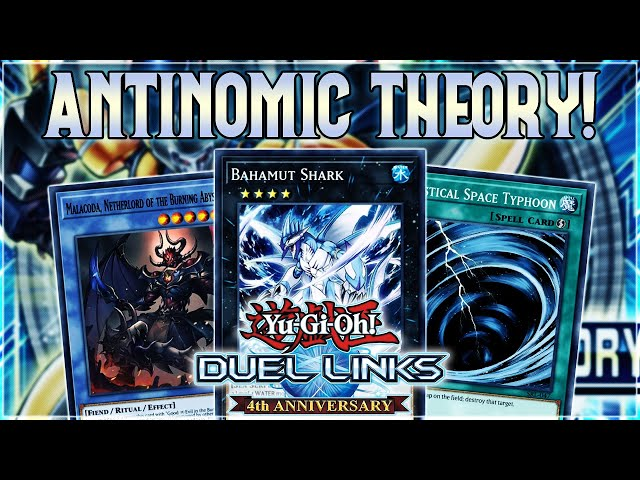 Yu-Gi-Oh! Duel Links | NEW BOX ANTINOMIC THEORY REVIEW! MST! BURNING ABYSS! RIKKA! AND NEW XYZ!