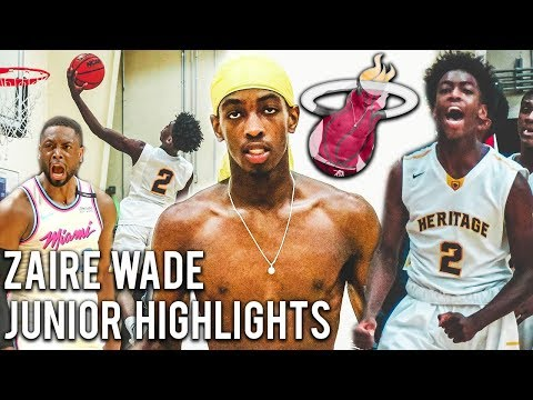 Zaire Wade IS NBA BOUND!?! Dwyane Wade Son Official Junior Year Highlights!