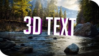 HOW TO MAKE 3D TEXT IN PHOTOSHOP CS6/CC (2016)
