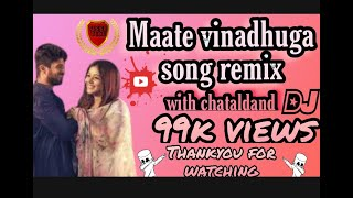 #Maate vinadhuga chatal band DJ mix's   #vinnu creations