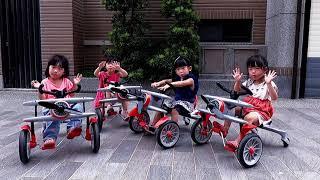 【我們是四胞胎】飄移飛機腳踏車好好玩!(優惠訊息詳內文)