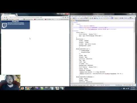 OBS Overlay using HTML/CSS and Browser Source Plugin - YouTube