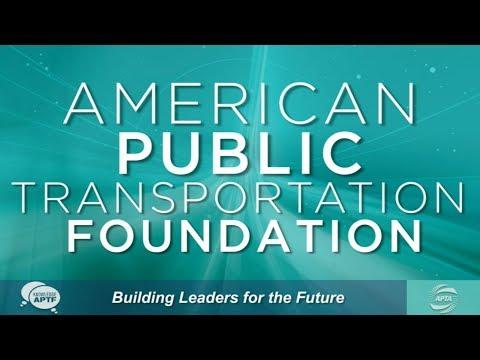 American Public Transportation Foundation (APTF) Scholarship Awards