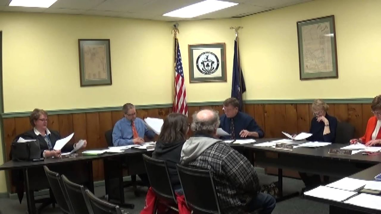 Champlain Village Board  2-8-16