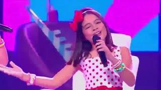 Helen SarhayFanny LuEquipo -  Fuerte  La Voz Kids Colombia
