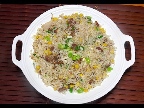 🔵 Pork Fried Rice - How To Make Fried Rice - Pinoy Recipes - Filipino Food - Tagalog Videos