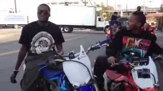 Wild Out Wheelie Boyz - Meek Mill and Lil Chino Video Shoot - #BikeLife