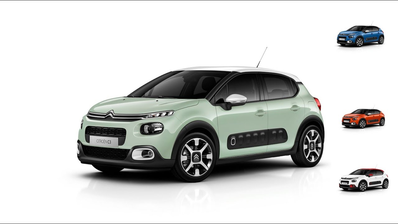 2016 new citroen c3 with cactus style youtube. Black Bedroom Furniture Sets. Home Design Ideas