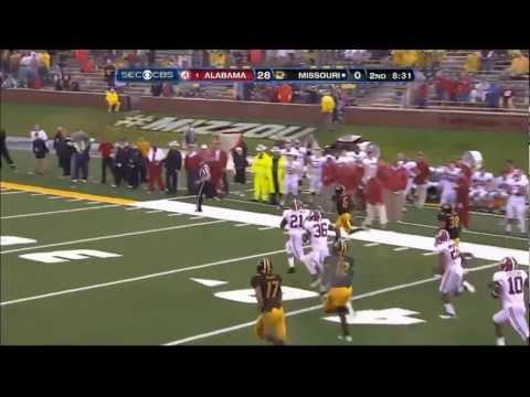 Top Kick Returns of 2012 | #7 | Marcus Murphy - Missouri |