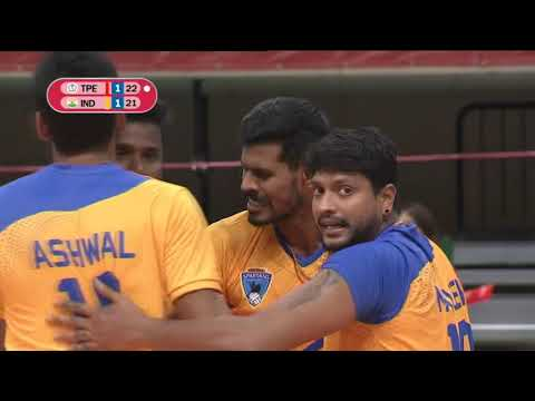 AVC MEN'S CLUB VOLLEYBALL CHAMPIONSHIP 2019 | GROUP E | TPE - IND